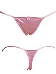 Femme Couleur Pleine G-strings & Tangas / Sous-vêtements Ultra SexyCoton / Nylon