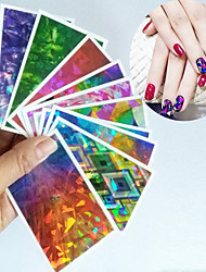 Абстракция - Фольга зачистки ленты - Пальцы рук / Пальцы ног - 7.5*4.5cm - 1PCS - Прочее