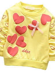 Girl's Color Kids Apparel 2016 NEW SPRING COTTON  BABY  T-SHIRT Clothing Style Fabric Season