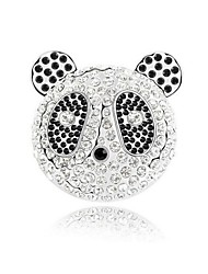 New Arrival Panda Brooches Gold And Silver Plated Women Costume Accessories Nickel Free Fashion Jewelry 2016