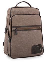 Men Women Canvas Backpack School Laptop Bag