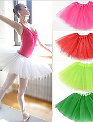 Slips Ball Gown Slip Short-Length 3 Tulle Netting White / Black / Red / Blue / Purple / Green / Pink / Yellow