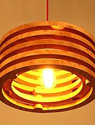 Willow Wood Lamp Chandelier Wooden Balcony Restaurant Bar
