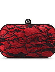 Women's Sexy Red Clutches Hand Bag