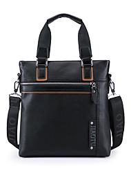 Men PU Messenger Shoulder Bag / Tote / Carry-on Bag / Boarding Case/Cabin Case - Brown / Black