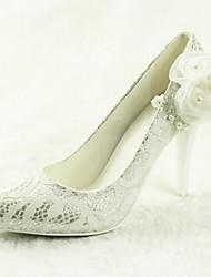 Zapatos de boda - Tacones - Tacones / Puntiagudos - Boda / Vestido - Plata - Mujer