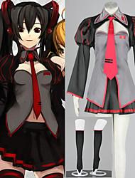 Vocaloid Zatsune MikuCosplay Costumes Ladies 6 Piece