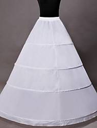 Slips A-Line Slip Tea-Length 1 Nylon White