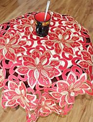 Multi-Purpose  Tablecloth With Size 85X85cm/33X33INCH  More Embroidery And Cutting Fower By Hand