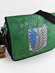 Bag Inspired by Attack on Titan Cosplay Anime Cosplay Accessories Bag Green Nylon Male / Female