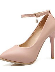 Women's Shoes PU Spring / Fall Heels /  Pointed Toe Heels Office & Career / Dress / Casual Stiletto HeelSparkling