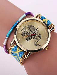 Xu™ Women's Wool Knitting Elephant Quartz Watch/Bracelet Cool Watches Unique Watches Fashion Watch