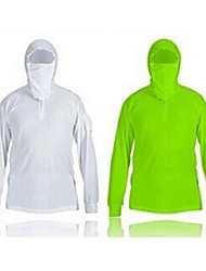 Men Outdoor Fishing Long Sleeve Tshirt Sun-Protective Quick-Drying Breathable UV Protection Clothing
