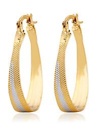 Boucle Cristal / Imitation de diamant Boucles d'oreille goutte Bijoux Femme Mariage / Soirée / Quotidien / Décontracté Alliage 1setDoré /