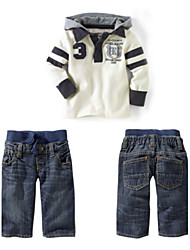 Boy's Cotton Jeans / Clothing Set , All Seasons Long Sleeve