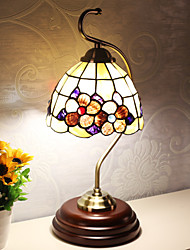 BOXIMIYA European Creative Shell Bedroom Lamp Lamps And Lanterns Of Study Of The Mediterranean