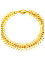Bracelet Chaînes & Bracelets Plaqué or Autres Original Mode Mariage Soirée Quotidien Décontracté Sports N/C Bijoux Cadeau1pc