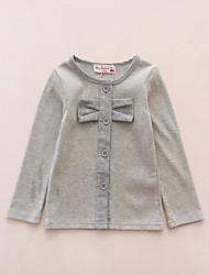 Pull à capuche & Sweatshirt Fille de Printemps / Automne Coton Jaune / Gris