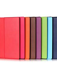 de alta qualidade caso de 10,1 polegadas pu couro para o guia Lenovo yt3-x50f (yoga Tab3-x50f) (cores sortidas)