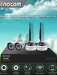 Szsinocam® 4CH 960P 1.3MP Waterproof WIFI NVR Kits,No Need To Set, You Can  The Image,Support Mobile phone P2P.