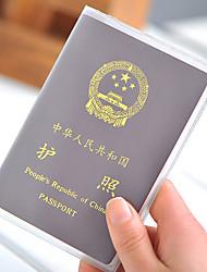 Viagem Porta-Documento Capa para Passaporte Organizadores para Viagem Prova de Água Á Prova-de-Pó Ultra Leve (UL) Portátil PVC