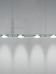 5 Lampe suspendue ,  Traditionnel/Classique / Rustique / Vintage / Rétro Plaqué Fonctionnalité for LED MétalSalle de séjour / Chambre à