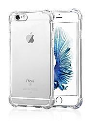 Para iPhone X iPhone 8 iPhone 7 iPhone 7 Plus iPhone 6 iPhone 6 Plus Carcasa Funda Antigolpes Transparente Cubierta Trasera Funda Color