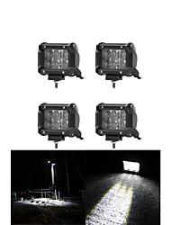 4x 30w levou luz de trabalho bar offroad 12v 24v ATV inundação offroad para UTV 4x4