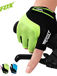 BATFOX  Outdoor Sports Riding Shockproof Silicone Mountain Bike Short Finger Gloves For Men And Women Wquipped F-531