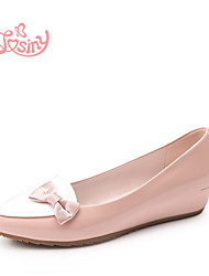 Women's Shoes  Low Heel Pointed Toe Flats Casual Pink / Purple / Beige