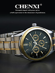CHENXI®Men's Classic Business Style Steel Strap Quartz Watch Cool Watch Unique Watch