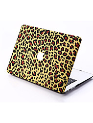 Dark Leopard Print Style PC Materials Hollow Out Hard Cover Case For MacBook
