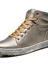 Men's Sneakers Spring Summer Fall Winter Comfort Nappa Leather Outdoor Office & Career Party & Evening Casual Work & Safety Lace-up