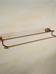 Doubel Layer 60cm Antique Bathroom Towel Bar