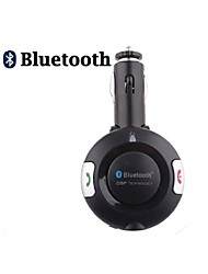 Bluetooth Handsfree Car Kit To Cigarette Lighter, Bluetooth 4.0 Can Support Two Phones Simultaneously