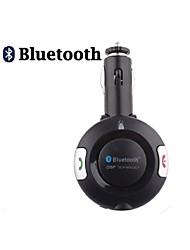 kit de coche manos libres bluetooth para encendedor de cigarrillos, bluetooth 4.0 puede admitir dos teléfonos al mismo tiempo
