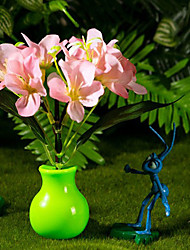 Valentine'S Day Gift Cartoon Light-Operated flower vase Dream Mushroom Sakura Table Lamp Light Led