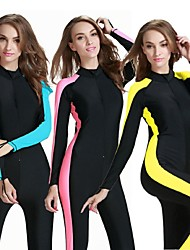 Women Diving Suit UV Swimsuit Conjoined Sun-Protective Clothing Jellyfish Garments Short Sleeve Wetsuit