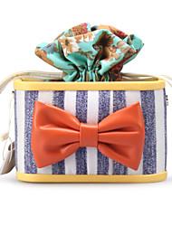 Bolso de Mano / Bolso de Noche - Bolso de Mano Casual - Poliéster / Cuero sintético - Multicolor - Mujer