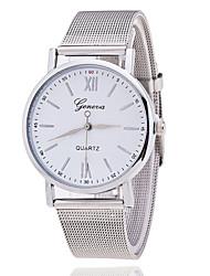 Xu™ Mulheres Relógio de Moda Quartzo Metal Banda Prata Branco Preto
