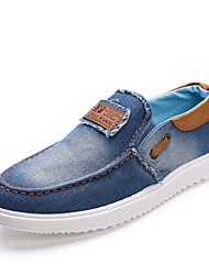 Men's Shoes Journey/Casual Fashion Casual Sports Cowboy Shoes Light blue/Dark blue