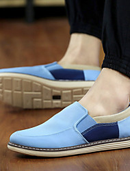 Men's Shoes Office & Career / Casual Canvas Loafers Black / Blue / Navy