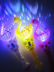 Valentine'S Day Gift Creative Swan Projection Magic Wand Toys Starry Sky LED Projection Lamp Night Light(Random Color)