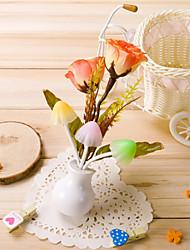 jour caricature cadeau lumière exploité le champignon de rêve fleur de vase de Valentine Rose lumière de la lampe teatable conduit