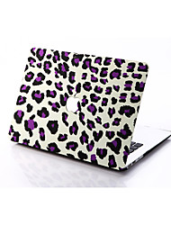 Light Leopard Print Style PC Materials Hollow Out Hard Cover Case For MacBook