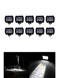 10x 30W LED Work Light Bar Offroad 12V 24V ATV SPOT Offroad for  Truck 4x4 UTV