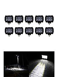 10x 30w luz de trabalho levou bar offroad 12v 24v ATV Offroad local para UTV 4x4