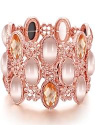 Armbänder ( Rose Gold überzogen / Edelstein & Kristall / Zirkonia / Acryl Party