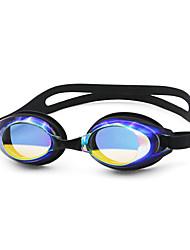 pc unisex óculos de natação anti-nevoeiro