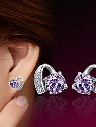 2016 Korean Unisex 925 Silver Sterling Silver Jewelry Earrings Shooting Star Stud Earrings 1Pair